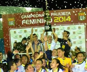São José campeão paulista futebol feminino 2014 Martins Pereira (Foto: Tião Martins/ PMSJC)