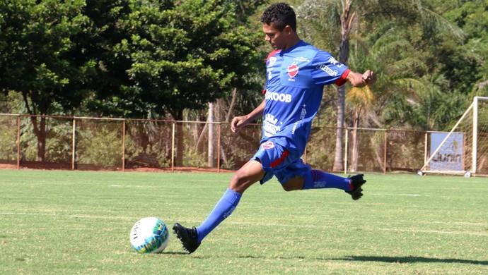 Fabinho, atacante do Vila Nova (Foto: Douglas Monteiro/Vila Nova)