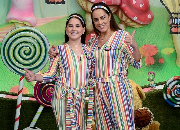 Amanda e Silvia Abravanel (Foto: Francisco Cepeda/AgNews)