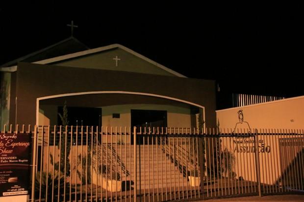 Paróquia Nossa Senhora da Assunção, onde foi realizado casamento de Gusttavo Lima e Andressa Suita (Foto: Evandro José/EGO)