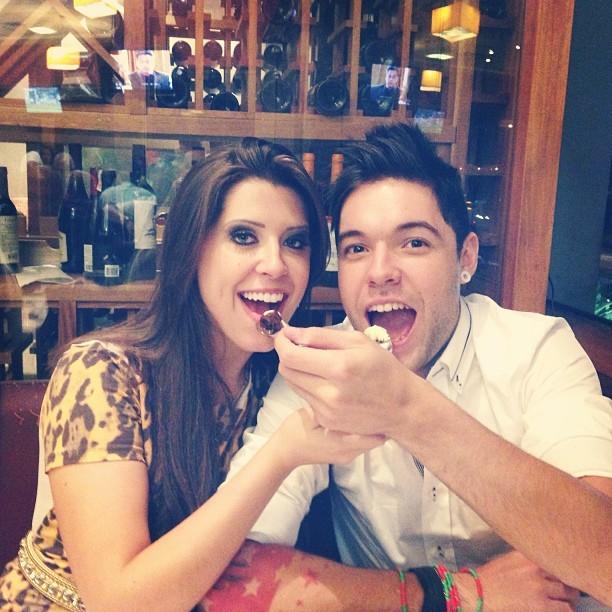 Ex-BBBs Andressa e Nasser (Foto: Instagram/ Reprodução)