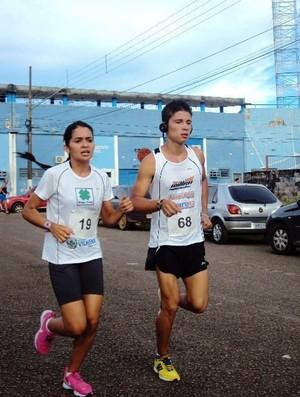 Daniela conheceu o Jonifferson nos Jogos Escolares de Rondônia (Foto: Daniela Souza Paz/Arquivo Pessoal)