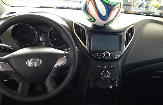 Hyundai distribui 100 mil bolas de futebol (Foto: Divulgação)