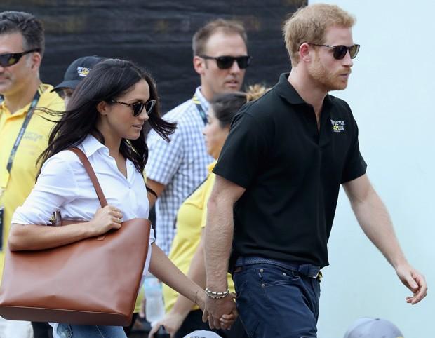 Príncipe Harry e Meghan Markle (Foto: Getty Images)