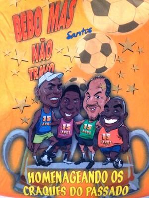 Banda homenageia ex-atletas do Santos (Foto: Divulgação)