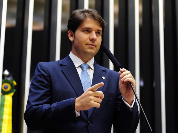 O deputado Luiz Argôlo no plenário da Câmara em março de 2013 (Foto: Gustavo Lima / Câmara dos Deputados)