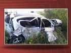 Soldado da PM morre em batida entre carro e carreta na BR-116