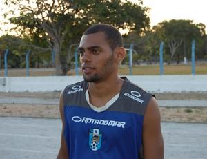 Jaílson, lateral-direito do CSP (Foto: Lucas Barros / Globoesporte.com/pb)