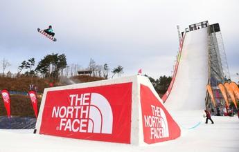 Em pista de 49m de altura, canadense brilha em teste olímpico para o Big Air