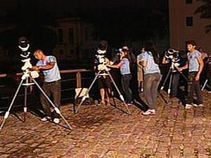Fenômeno lunar raro poderá ser observado em Belém no próximo domingo (27). (Foto: Divulgação/UFPA)