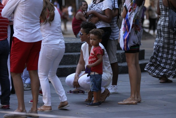 Alicia Keys no Rio (Foto: Fabio Martins / Fotorio News)