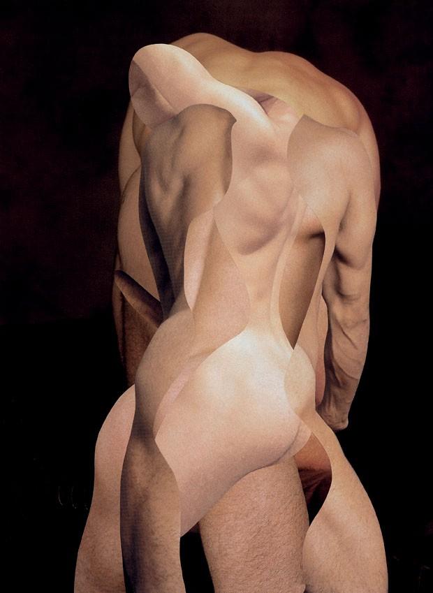 Açougueiro V,  2007, de Odires Mlászho, que estará no pavilhão brasileiro (Foto: Galeria Vermelho)