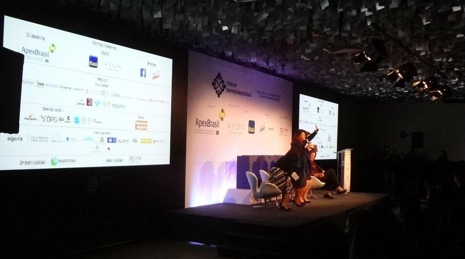 O V Fórum Empreendedoras aconteceu em São Paulo, nesta quinta-feira (22/9), pela Rede Mulher Empreendedora (Foto: Divulgação)