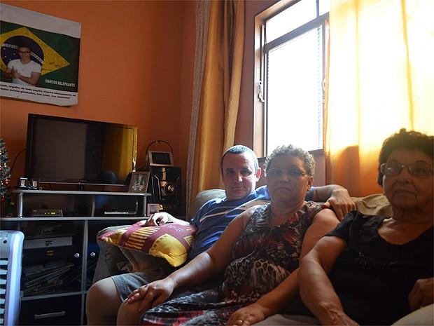 A família de Marcos Delefrate espera que a justiça seja feita (Foto: Analídia Ferri/G1)