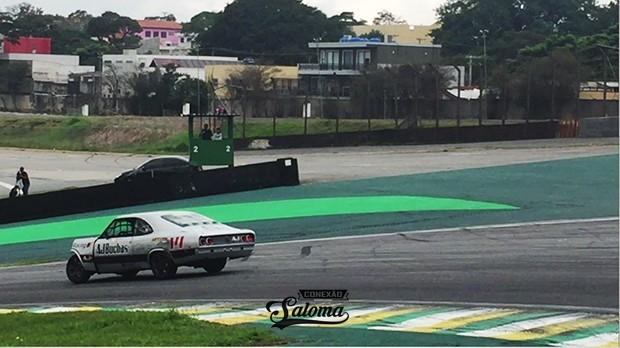 Opala #14 Fabian Hengles (cat M) depois de se envolver em acidente, terminou na P18 na corrida 1 (Foto: André Lemes/GRID Photo Racing)