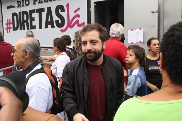 Gregório Duvivier (Foto: Wallace Barbosa/AgNews)