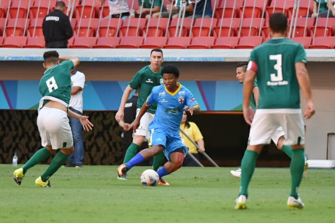 Gama x Real FC Candangão (Foto: Ricardo Botelho / Real FC)