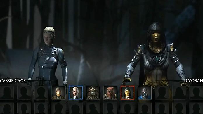 personagens bloqueados em Mortal Kombat X ZGB Start