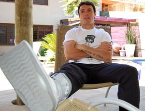 kleber grêmio gladiador (Foto: Bruno Junqueira | TRATO.TXT)