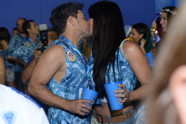Zeze de Camargo e Graciela  (Foto: Erbs Junior Luciana Monteiro e Marcello As Barretto / AgNews)