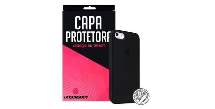 Capa com design slim para iPhone SE (Foto: Divulgação/Underbody)