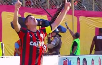 "Improvisado na lateral direita, Diego Renan comenta fase como ""garçom"""