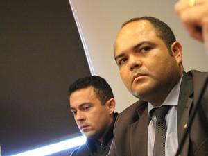 Promotor Rômulo Cordão, do Gaeco (Foto: Fernando Brito/G1)