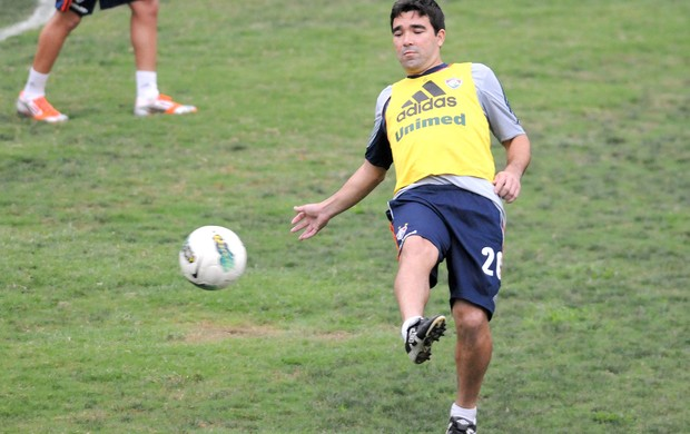 Deco, Treino do Fluminense (Foto: Dhavid Normando / Photocamera)