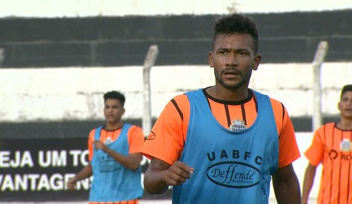 Rodrigo Maranhão, atacante União Barbarense (Foto: Pedro Santana/ EPTV)