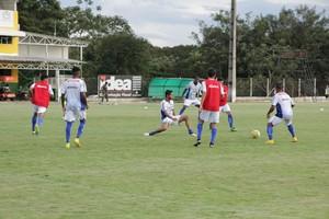 Luverdense, treinos 2017 (Foto: Maico Gaúcho/Luverdense EC)