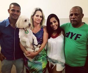figueirense clayton família (Foto: Arquivo pessoal)