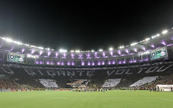 Maracanã em 2013. O Botafogo tomou dinheiro emprestado com a Odebrecht, mas nunca devolveu (Foto: Vitor Silva / SSPress)
