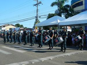 Soldados músicos da PM de Roraima (Foto: Divulgação)