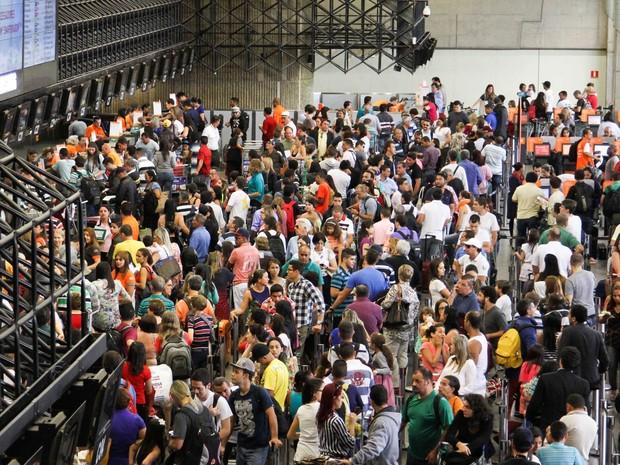Tarifas nos aeroportos de Guarulhos e Viracopos são reajustadas