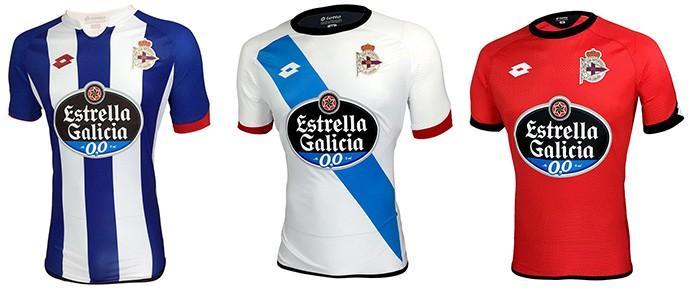 Camisas espanhol La coruna