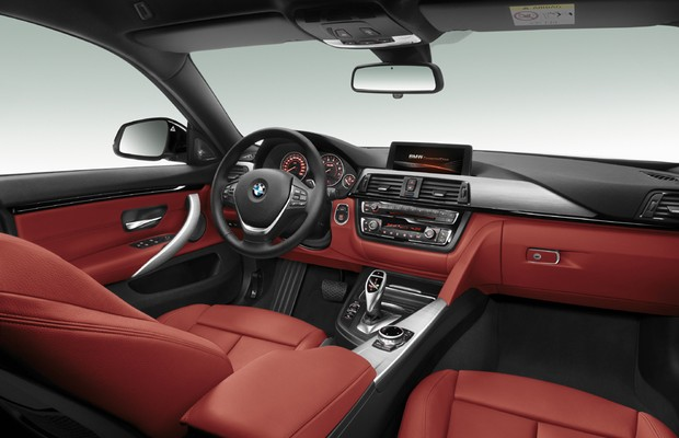 Interior do BMW Serie 4 Gran Coupé (Foto: Divulgação)