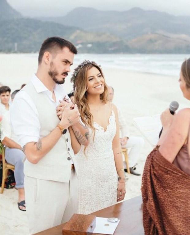 Rúbia Baricelli e Henrique Tomaz se casam (Foto: Rafael Canuto)