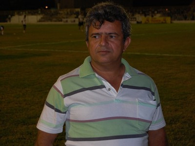 Rafael Abrantes, gerente de futebol do Sousa (Foto: Silas Batista / GloboEsporte.com)