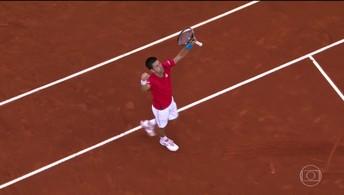Novak Djokovic é campeão  do Masters 1000 de Madrid