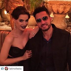 Rayanne Morais e Latino (Foto: Reprodução/Instagram)