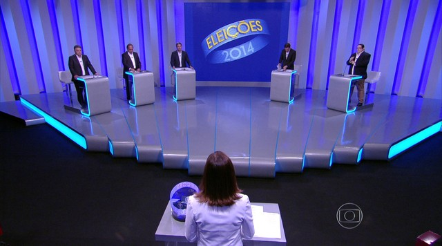 Debate entre os candidatos ao governo do Rio de Janeiro - Parte 3