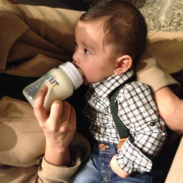 Bruno Lucas, filho do jogador Dentinho (Foto: Reprodução / Instagram)