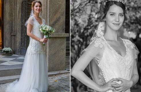Confira os looks e momentos do casamento de Laura e Marcos
