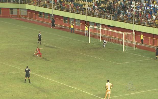 Estrelão bate o Atlético-AC nos pênaltis e fatura o 44º título estadual (Foto: Acre TV)