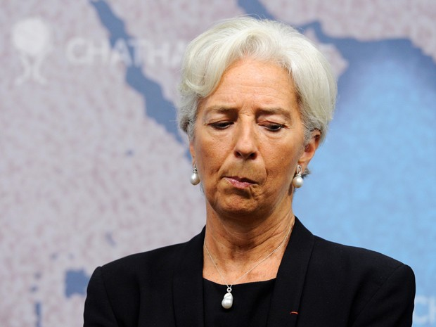 Lagarde discursou na abertura de evento no Royal Institute for International Affairs, em Londres. (Foto: Reuters)