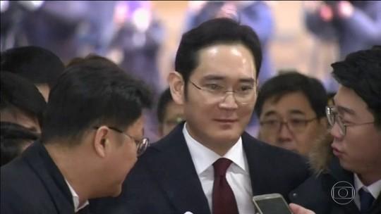Herdeiro da Samsung está envolvido em escândalo na Coreia do Sul