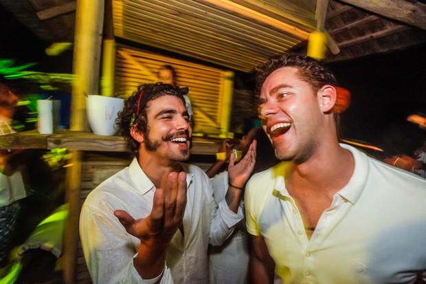 Caio Castro e Thiago Pereira (Foto: Charles Naseh)