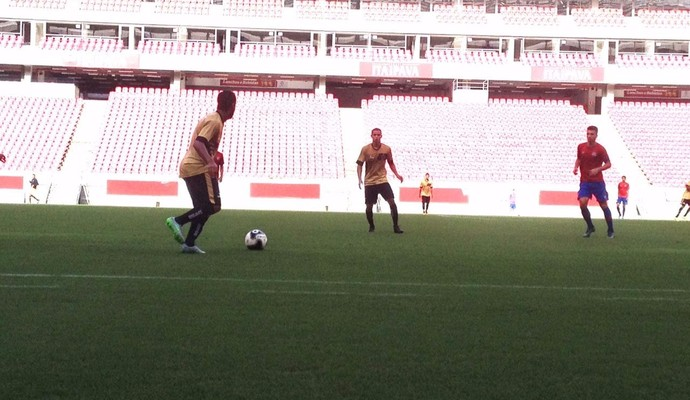 Jogo-treino do Botafogo-PB em Pernambuco (Foto: Divulgação / Botafogo-PB)