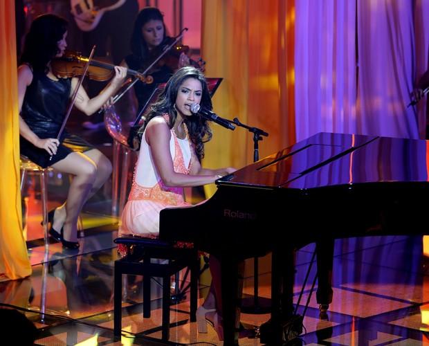 Lucy Alves Shows ao Vivo 1 (Foto: Isabella Pinheiro/TV Globo)