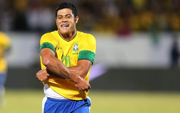 Hulk comemoração gol Seleção
